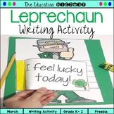 Leprechaun Writing Activity for St. Patrick's Day