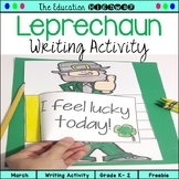 Leprechaun Writing Activity for St. Patrick's Day