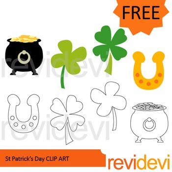 St. Patrick's Day Free clip art