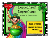 St. Patrick's Day Early Reader Literacy Circle