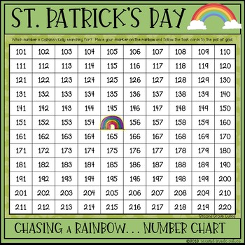 St. Patrick's Day Freebie