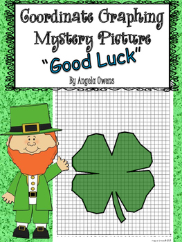 St. Patrick's Day Freebie Coordinate Graph