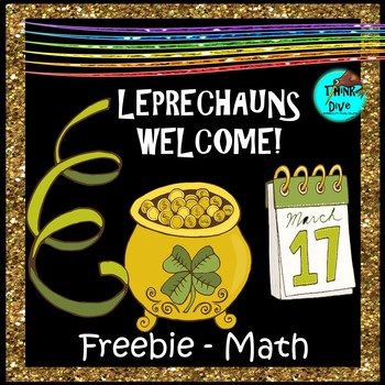 St. Patrick's Day Freebie - Math