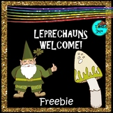 St. Patrick's Day Freebie - Writing - Animals, poets, music, female leprechauns