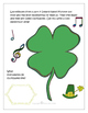 St. Patrick's Day Freebie - Writing - Animals, poets, music, female leprechauns