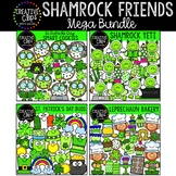 St. Patrick's Day Friends Clipart Bundle {Creative Clips Clipart}