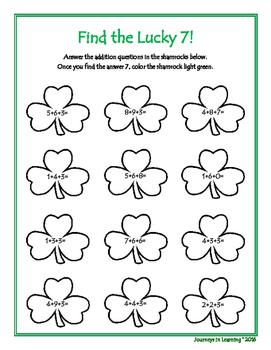 St. Patrick's Day Fun Activities!