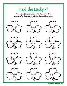 St. Patrick's Day Fun Activities!