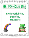 St. Patrick's Day Fun Packet