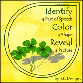 St Patrick's Day Grammar Fun Printable Parts of Speech Picture Review Activity