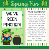 St. Patrick's Day Fun - You've Been Pinched -