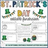 St. Patrick's Day Fundraiser- Lucky Gram EDITABLE