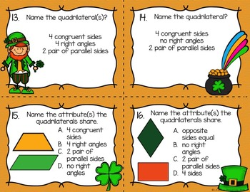 St. Patrick's Day Geometry Game