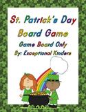 St. Patrick's Day Game Board