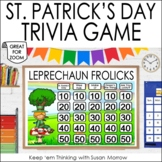 St. Patrick's Day Game FREE: St. Patrick's Day PowerPoint Game Show