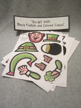 St. Patrick's Day Game Give the Leprechaun His Pot of Gold FUN Craft
