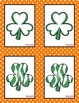 St. Patrick's Day Game - Shamrock Memory Match