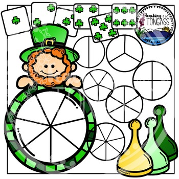 St. Patrick's Day Clipart (Spinner Clipart)