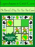 St. Patrick's Day Games: Leprechauns & Gold Coins Tic-Tac-Toe Game
