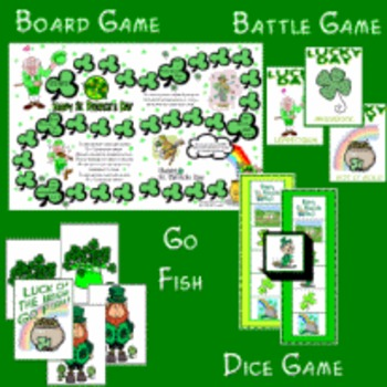 St. Patrick's Day Games Set