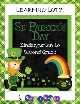 St. Patrick's Day Games and Activities for Kindergarten, First and Second Grades
