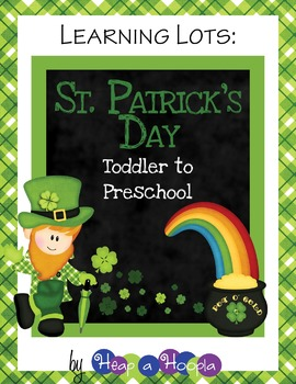 St. Patrick's Day Games and Activities for Toddlers & Preschool