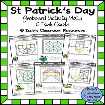 St. Patrick's Day Geoboard Activity Mats