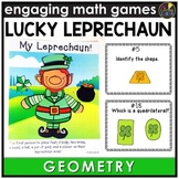 Saint Patrick's Day Geometry Game