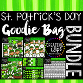 St. Patrick's Day Goodie Bag Bundle {Creative Clips Digita
