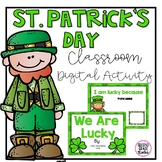 St. Patrick's Day Google Digital Activity