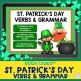 St. Patrick's Day Grammar and Vocabulary Boom Cards™