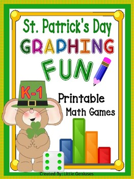 St. Patrick's Day Graphing Math Games and More!