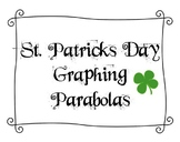 St. Patrick's Day Graphing Parabolas