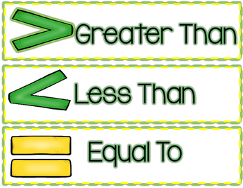 St. Patrick's Day:  Greater Than, Less Than