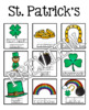 St. Patrick's Day Guided Writing Pattern Prompts for Emerg