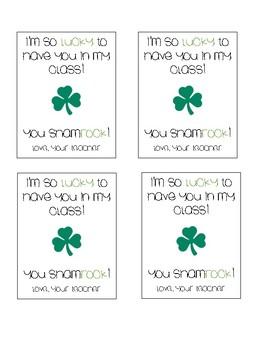 St. Patrick's Day Handout!