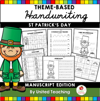 St. Patrick's Day Handwriting Lessons (Manuscript Edition)