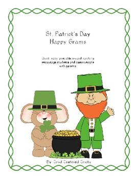 St. Patrick's Day Happy Grams