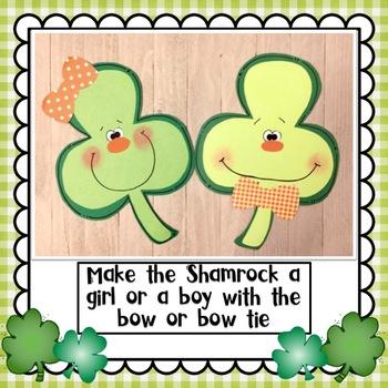 St. Patrick's Day Happy Shamrock Craft