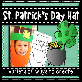 St. Patrick's Day Hat Crown
