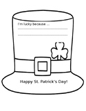 St. Patrick's Day Hat/Writing