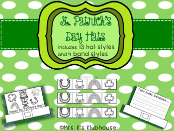 St. Patrick's Day Hats- 13 different styles!