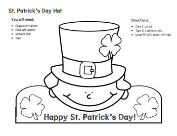 St. Patrick's Day Hats & More - 2nd Grade