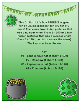 St. Patrick's Day Hidden Picture FREEBIE
