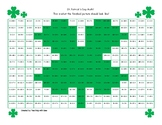 St. Patrick's Day Hidden Picture Math: Addition to 20