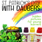 St. Patrick's Day Hidden Pictures with Daubers