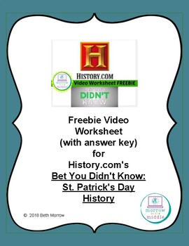 St. Patrick's Day History NO PREP Independent Video Activity