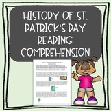 St. Patrick's Day Close Reading