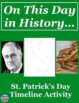 St. Patrick's Day History Timeline
