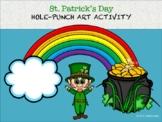 St. Patrick's Day Hole-Punch Art Activity